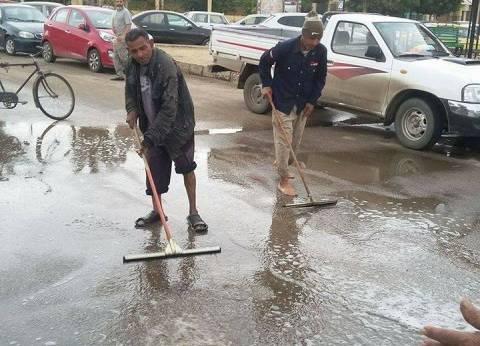 عاجل| أمطار رعدية تسقط على أسوان