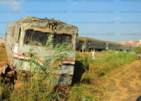 إيقاف 9 من العاملين بالسكة الحديد عن العمل على خلفية حادث الإسكندرية