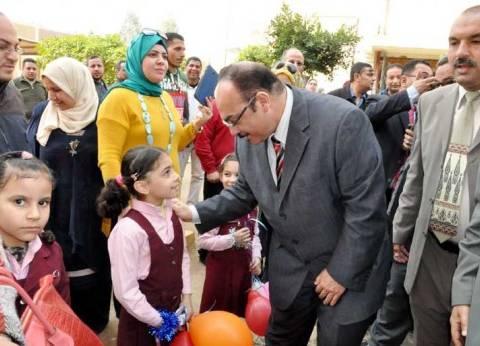 بالصور  محافظ القليوبية: القمامة ثروة قومية.. وإصلاح مصر يبدأ من التعليم