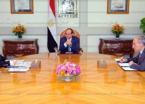 """""""السيسي"""" يستعرض مع وزيرة التعاون تنفيذ برنامج تنمية شبه جزيرة سيناء"""