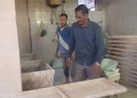 تحرير 15 محضرا للمخابز البلدية بديرمواس في المنيا