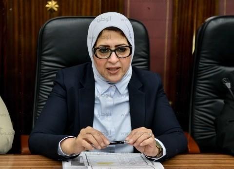 وزيرة الصحة تتفقد تجهيزات مستشفى أطفال النصر التخصصي