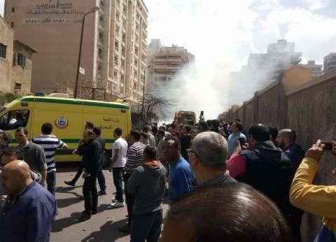 """""""صحة الإسكندرية"""": مصرع شخص وإصابة 3 في انفجار شرق المدينة"""