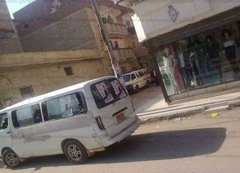 مرشح ينقل الناخبين بأتوبيسات تحمل صوره للمقار الانتخابية في إسماعيلية