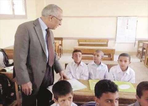 تسهيلات للطلاب المنقولين من الشيخ زويد ورفح بشمال سيناء