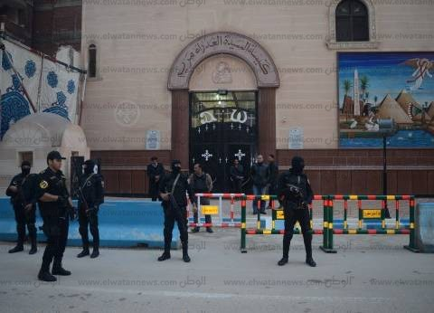 إجراءات أمنية مشددة تزامنا مع الاحتفال برأس السنة في بني سويف