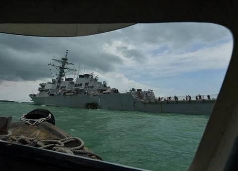البحرية الأمريكية تعلق عملياتها في العالم بعد الاصطدام بناقلة نفط