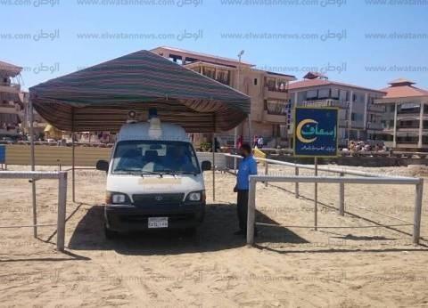 بالصور| رأس البر تستقبل 500 ألف زائر في أول أيام عيد الفطر