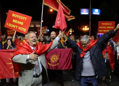 """90% من الناخبين في مقدونيا يصوتون لصالح """"الطريق الأوروبية"""""""