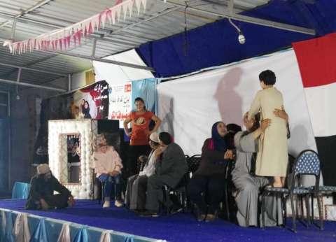 احتفالية ثقافية بذكرى 30 يونيو في بيت ثقافة بلقاس بالدقهلية
