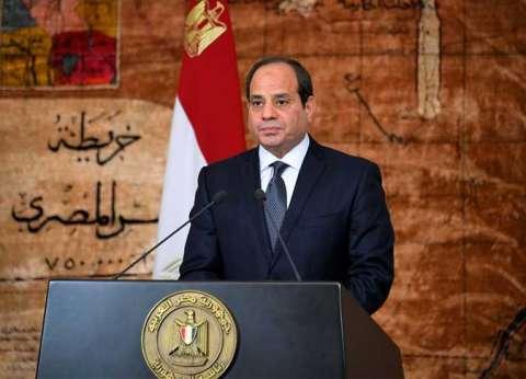 """صفحة """"السيسي"""" تنشر 4 رسائل للرئيس خلال جلسة """"مواقع التواصل الاجتماعي"""""""