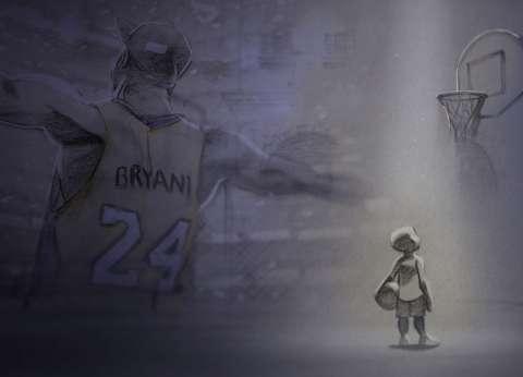 """أوسكار أفضل فيلم أنيمشن قصير تذهب لـ""""Kobe Bryant's Dear Basketball"""""""