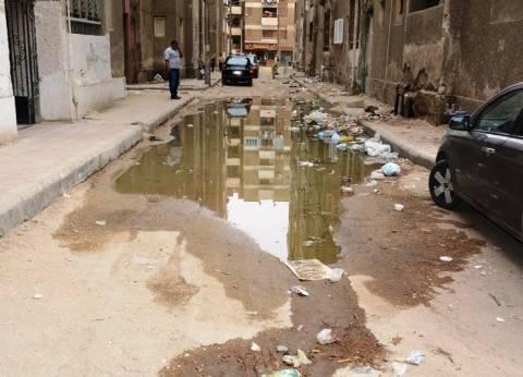 محافظ سوهاج يكلف حي شرق بإصلاح مواسير الصرف الصحي بعمارات ناصر