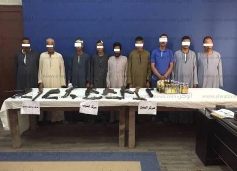 وزارة الداخلية: القبض على 59 متهما في المحافظات