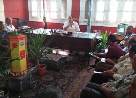 بالصور| رئيس مدينة قطور يشدد على إزالة تعديات الزراعات في المهد