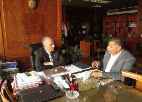 وزير الري: نتعاون مع الجهات المعنية لتنمية وإدارة الموارد المائية