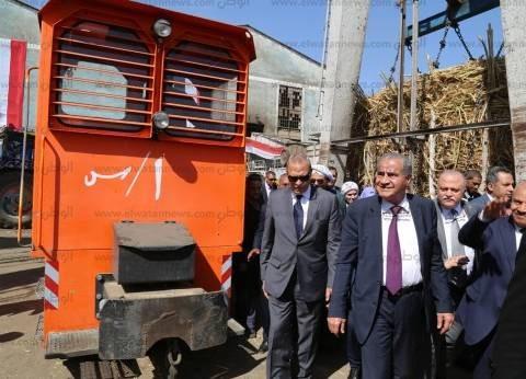 وزير التموين يتابع وصول المواد الغذائية لسيناء