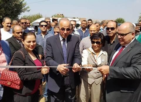 """تطوير """"أبو الغيط"""" بالقليوبية ضمن مشروع 100 قرية مصرية"""