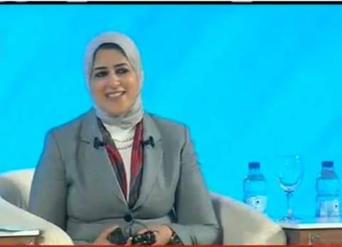 """وزيرة الصحة لمسعف الإسماعيلية المصاب في سيناء: """"ألف سلامة عليك يا بطل"""""""