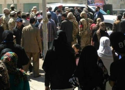 """""""الصحة """"و""""قومي المرأة"""" بدمياط ينظمان مسيرة للحث على النزول للانتخابات"""