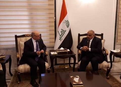 """""""بيرت"""" يبحث مع رئيس الوزراء العراقي دعم بريطانيا لجهود الإصلاح"""