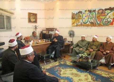 """""""ثقافة جنوب سيناء"""" تستقبل وفدي """"الأوقاف والقومية لترشيد المياه"""""""