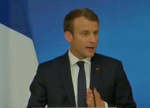 """ماكرون: السلطات الفرنسية أجرت اتصالا غير رسمي مع """"الحريري"""""""