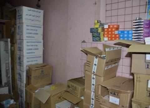 مباحث الإسكندرية تلقي القبض على شاب يصنع الأدوية البيطرية المغشوشة