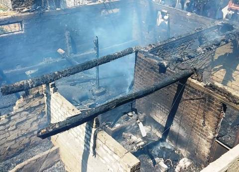 إصابة 2 في حريقين التهما 8 منازل و5 أحواش بأسيوط
