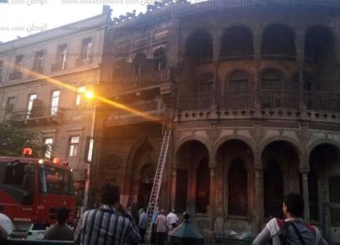 """السيطرة على حريق رمسيس بعد امتداده إلى """"سبيل أم محمد علي"""""""