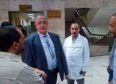 مدير التأمين الصحي بالشرقية يتابع العمل بمستشفى المبرة في الزقازيق