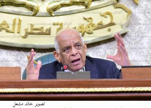 عبد العال يغادر القاهرة على رأس وفد برلماني متجها إلى قبرص