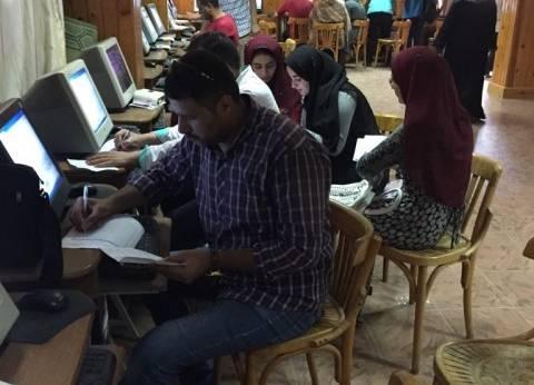 190 طالبا يسجلون رغباتهم في أول أيام اختبارات القدرات بكليات المنصورة