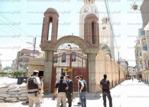 دير مارجرجس يغلق أبوابه أمام الزوار والرحلات اعتبارا من 24 يونيو