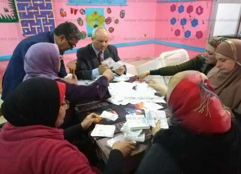 بدء فرز أصوات الناخبين بلجان العياط وأطفيح وأوسيم بالجيزة