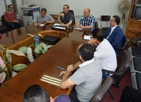 رئيس جامعة سوهاج يلتقي معاوني أعضاء هيئة التدريس بكلية الطب