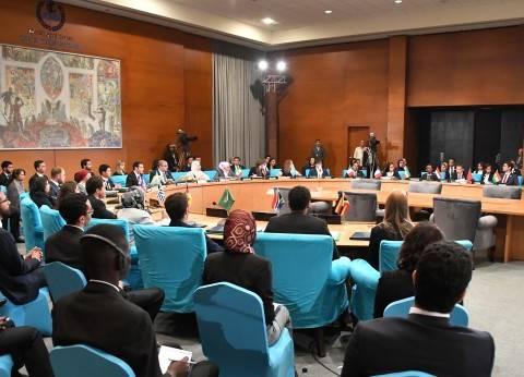 المشاركون بـ«محاكاة مجلس الأمن» يطالبون بالعمل تحت مظلة الأمم المتحدة لدحر الإرهاب