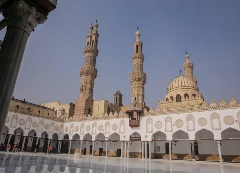 السيسي وبن سلمان والطيب يتفقدون الجامع الأزهر