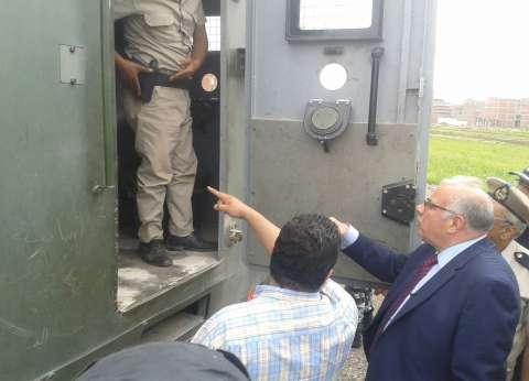 مدير أمن القليوبية يتابع تأمين مأموريات ترحيل المسجونين