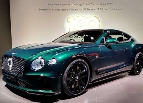 """""""بنتلي"""" تطلق واحدة من أفخم السيارات الرياضية في العالم"""