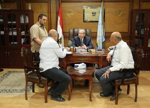محافظ كفر الشيخ يطالب بمتابعة نسب تنفيذ المشروعات الخدمية