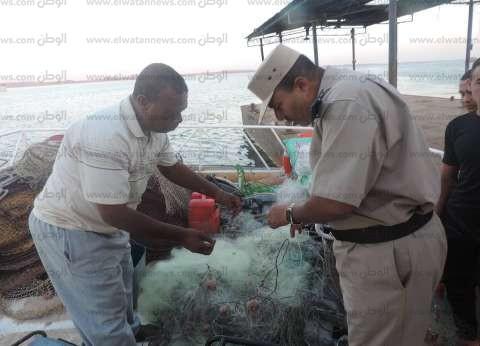 مساعد مدير أمن أسوان يعرض خطة أمنية للمسطح المائي ببحيرة ناصر