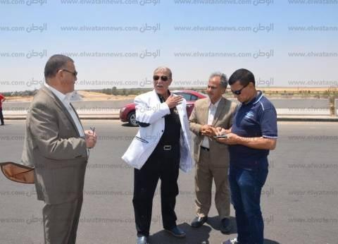 """محافظ الإسماعيلية: """"محور 30 يونيو"""" ركيزة أساسية للتنمية بمنطقة القناة"""