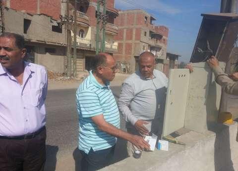 رئيس مدينة سمنود يتفقد المشروعات الخدمية والمنشآت بمحلة خلف