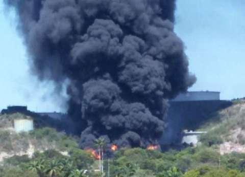 حريق بمصفاة نفط ضخمة يتسبب في ارتفاع سعر البنزين بالولايات المتحدة