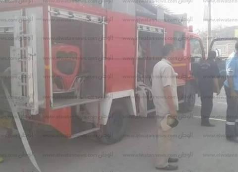 عاجل| حريق هائل في «مغلق خشب» بالطالبية