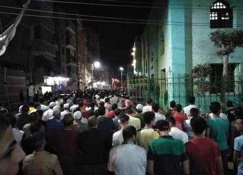 الآلاف يشيعون إسلام الخضيري بالمطرية.. الضحية 12 في حادث بورسعيد