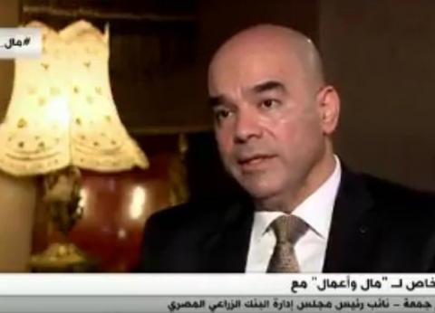 نائب رئيس البنك الزراعي المصري:تسوية 3950 عملية تعثر للقروض الصغيرة