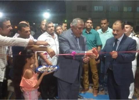 """مدير أمن جنوب سيناء يفتتح  معرض """"كلنا واحد"""" للمستلزمات المدرسية"""