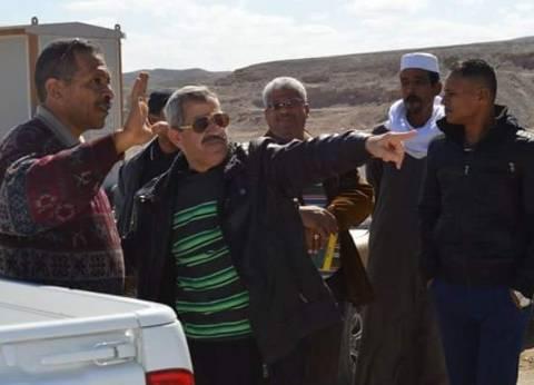 رئيس مدينة القصير يتفقد أرض المنطقة الصناعية شمال قرية الحمراوين